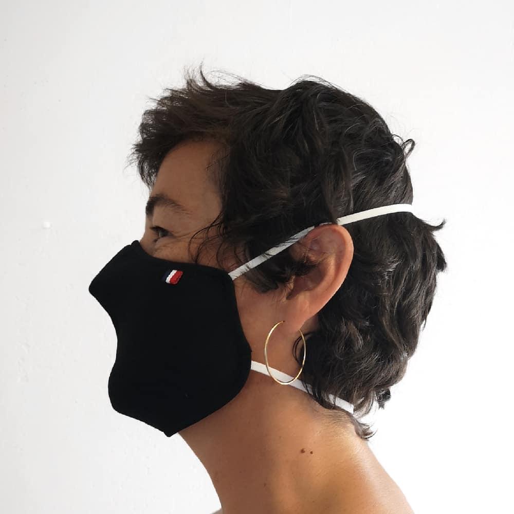 Masques covid protection balas textile