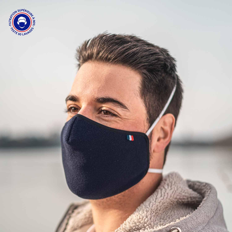 Masque Tissu Catégorie 1 | Arctic Breath – Made In France