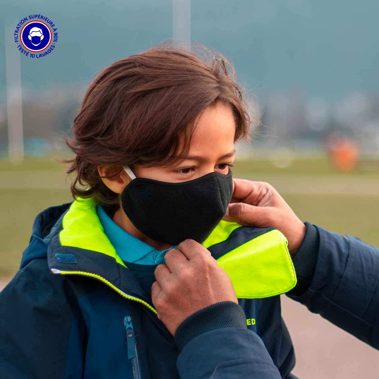 Masque Tissu Catégorie 1 | Cocoon Breath Enfant – Euromed