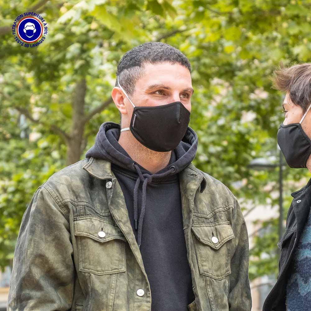 Masque Tissu Catégorie 1 | Masque Grand Public & Sport | SYMI Breath
