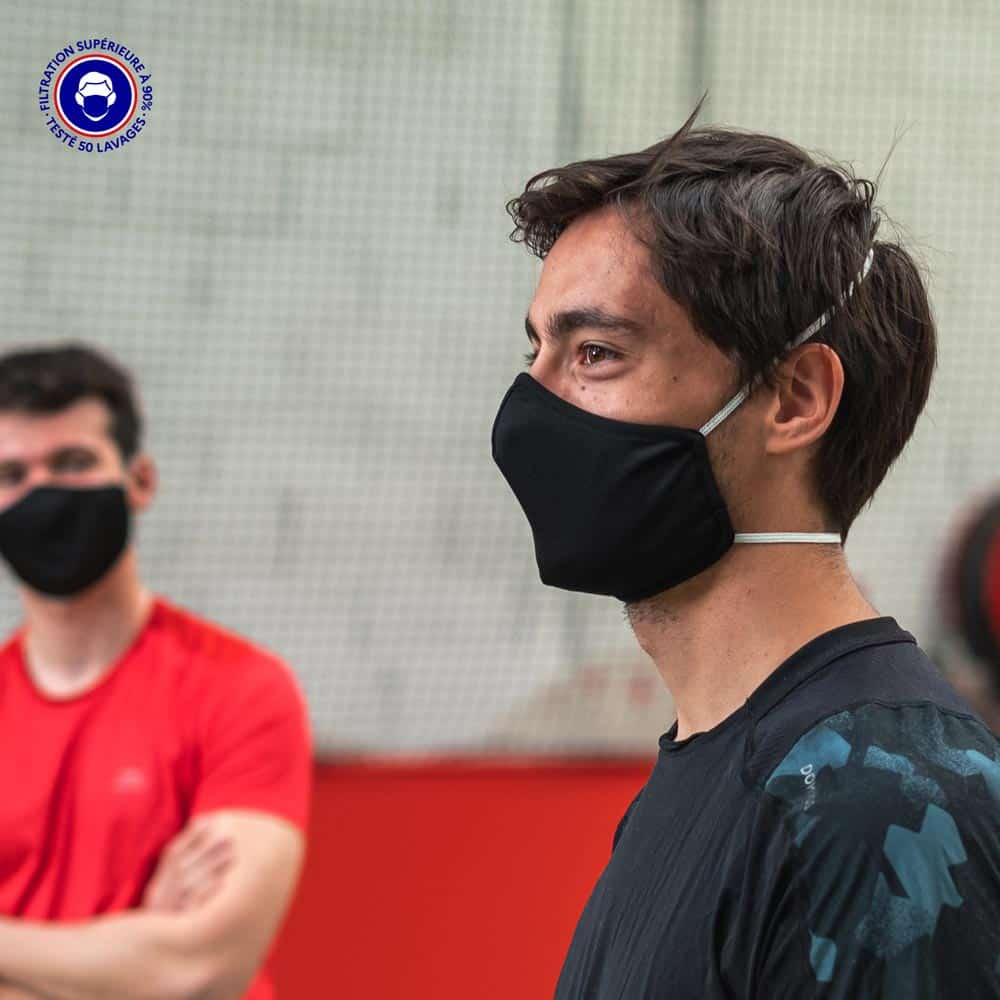 Masque Tissu Catégorie 1 | Masque Sport | SYMI Breath – Euromed